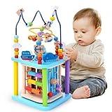 Baobë Würfel Spielzeug für Kinder, pädagogische Perle Labyrinth für Kleinkinder, Sea World...