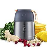 720°DGREE Thermobehälter Warmhaltebox WunderJar 450ml   Premium Isolierbehälter Box für Warme...