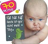 JANEYO - Meilensteinkarten für Ihr Baby  70 Meilenstein Motive: inklusive Wochen-, Monats-Karten...