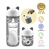 Tragbarer Flaschensterilisator Smart Babyflaschensterilisator mit Ein-Tasten-Bedienung und kompaktem Design Ideal für unterwegs