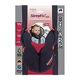 SANDINI SleepFix Kids BASIC – Kinder Schlafkissen mit Stützfunktion – Kindersitz-Zubehör als BASIC Version für Auto/Fahrrad/Reise – Verhindert das Abkippen des Kopfes im Schlaf
