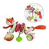 Toyonee Baby Spiral Aktivität Hängende Spielwaren, Kinder Cartoon Kinderwagen Musical Spielzeug Warenkorb Sitz Kinderwagen Spielzeug (Style K)