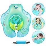 Infreecs Baby Schwimmring mit Pumpe, Baby Schwimmen Ring Baby Schwimmhilfe Kinder Schwimmring...