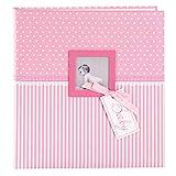Goldbuch Babyalbum mit Fensterausschnitt, Sweetheart, 30 x 31 cm, 60 weiße Blankoseiten mit 4...