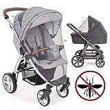 Universal Insektenschutz/Mückennetz für Kinderwagen & Buggy | idealer Schutz vor Wespen &...