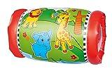 Simba 104010015 104010015-ABC Krabbelrolle mit 2 Rasselbällen