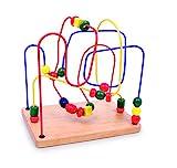 Small Foot by Legler 6941 Geschicklichkeitsspiel aus Holz mit drei verschieden farbigen Schleifen,...