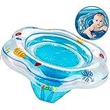 XMDDX Aufblasbare Baby Schwimmring, Schwimmring Pool Schwimmen Float mit Schwimmsitz für Kinder...