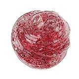 HuhuaBunter mischender Wolken-Zuckerwatte-Schlamm parfümierte Druck scherzt Lehm-Spielzeug (rot)