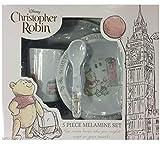 Disney Christopher Robin Geschirrset aus Melamin, 5-teilig