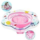 SRXWO Baby Schwimmring mit Schwimmsitz, aufblasbare Baby Schwimmring für Kleinkind Schwimmhilfe...