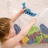 spielzeug netz aufbewahrung,Badenetz für Spielzeug,Starke Saugnäpfe mit Haken für sicheren...