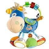 Playgro 40016 Plüschrassel, Lernspielzeug, Ab 3 Monaten, BPA-frei, Playgro Toy Box Pferd Klipp...
