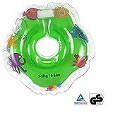 XUELIEE Kleinkind Kinder Schwimmender Schwimmen Ring Aufblasbarer Baby Schwimmring Kommt by (Grün)