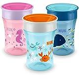 NUK Magic Cup Trinklernbecher, 360° Trinkrand, auslaufsicher abdichtende Silikonscheibe, 230ml,...
