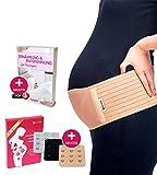 Luamex Schwangerschaftsgürtel - Schwangerschafts Bauchband - Schwangerschaftsgurt in Verstellbarer...