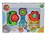 Simba 104018066 - ABC 3-teiliges Baby Rassel Set
