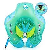 COSORO Baby Schwimmring Baby Float Schwimmreifen Mit Baby Schwimmsitz,Aufblasbare Schwimmhilfe Für...