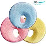 Babykissen von iQ-med | Baby-Kissen gegen Verformung und Plattkopf | aus viskoelastischem Schaum |...