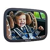 Rücksitzspiegel für Babys aus bruchsicherem Material, Auto Rückspiegel für Kindersitz und...