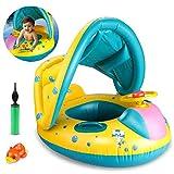 Joylink Baby Schwimmring Aufblasbares Kinderboot Abnehmbaren umweltfreundlich PVC Schwimmhilfen...