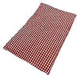 M&H-24 Kirschkernkissen Wärmekissen Körnerkissen Kältekompresse Wärmekompresse - Kirschkern Kissen für Mikrowelle Backofen wohltuende trockene Wärme für Kinder Erwachsene 20x30 cm Groß Rot