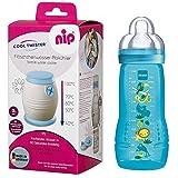 NIP Flaschenkühler Cool Twister inkl. inkl. 1 x MAM BabyBottle Easy Active Flasche 330ml mit Sauger...