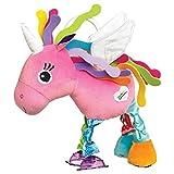 Lamaze Baby Spielzeug'Ella, das Einhorn' Clip & Go – Hochwertiges Kleinkindspielzeug – Greifling stärkt Eltern-Kind-Bindung – Ab 0 Monate