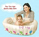 Tiny Tots Baby Infant Travel aufblasbare Badewanne creme Farbe