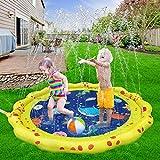 VATOS Splash Pad Wasserspielzeug spielmatte Outdoor Sommer Garten Splash Spielmatte für Baby Party...