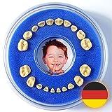 Firsty Milchzahndose Round (Blau, Jungen) ABF Deutsch, Schneller Versand