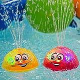 Schwimmende Badespielzeug FüR Babys,Womdee Pool Spielzeug Kinder Mit Licht,Kann Schweben Und Sich...
