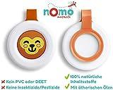 nomo MOSQUITO gegen Mücken – Mückenschutz Clip für Baby und Kinder 100% pflanzlich – 1 Anti...