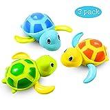 Baby Badespielzeug Baby Bade Bad Schwimmen Badewanne Pool Spielzeug Uhrwerk Schildkröte Schwimmbad...