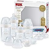 NUK Nature Sense Perfect Babyflaschen Starter Set   0–18 Monate   4 x Anti-Colic-Babyflaschen,...