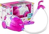 Lean Toys Staubsauger Haushaltsgerät Sound&Licht Haushaltsgerät Kinder-Staubsauger