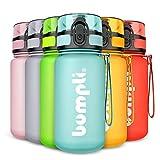 bumpli® Kinder Trinkflasche SoftTouch - auslaufsicher & Kohlensäure geeignet - BPA-freie...