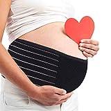 AIWITHPM Bauchband Schwangerschaft Sgürtel Bauchband für Schwangere Stützgürtel Bauchgurt...
