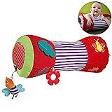 Leikance Baby Krabbelrolle, multifunktional, weich, gefüllt, Rollkissen für Babys,...