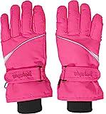 Playshoes Kinder Finger-handschuh Unisex Fingerhandschuhe mit Klettverschluss, Rosa (Pink 18), 4 EU