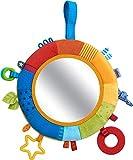 HABA 304689 - Spielkissen Kunterbunt, Baby-Spielzeug ab 6 Monaten für Gitterbett oder Babyschale,...