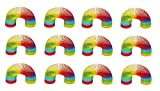 Sonnenscheinschuhe® Bigpack: 12 x Regenbogenspirale Treppenläufer 6cm Hüpf Spirale Mitgebsel für...