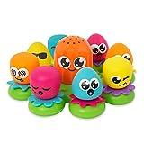 TOMY Wasserspiel für Kinder 'Okto Plantschis' mehrfarbig - hochwertiges Kleinkindspielzeug -...