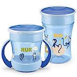 NUK Magic Cup Trinklernbecher Duo Set | Magic Cup 230ml + Mini Magic Cup 160ml mit Ergonomische...