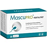 MascuPRO Fertilität Mann - Fruchtbarkeit - Spermienproduktion + 60 Kapseln + L-Carnitin...
