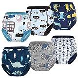 FLYISH DIRECT Packung mit 6 Kleinkind Töpfchen Trainingshose Baby Trainingshose Kinder...