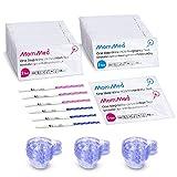 MomMed 80 Ovulationstest und 25 Schwangerschaftstest(HCG25-LH80), HCG teststreifen, LH teststreifen...