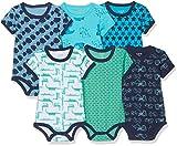 Care Baby - Jungen Kurzarm-Body im 3er und 6er Pack Blau (Dark Navy 778), Herstellergröße: 92