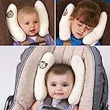 Inchant Einstellbare Kleinkinder und Baby-Ansatz Kopf Unterstützung, U-Form Kinder-Spielraum-Kissen-Kissen für Auto-Sitz, bietet Schutz Sicherheit für Kinder