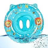 O-Kinee Baby Schwimmring, Baby Float schwimmreifen, Schwimmring mit Sitz, Schwimmring Baby, Schwimmreifen Schwimmtrainer Aufblasbare, für Kleinkind Schwimmhilfe Spielzeug 6 Monate bis 36 Monate(Blau)